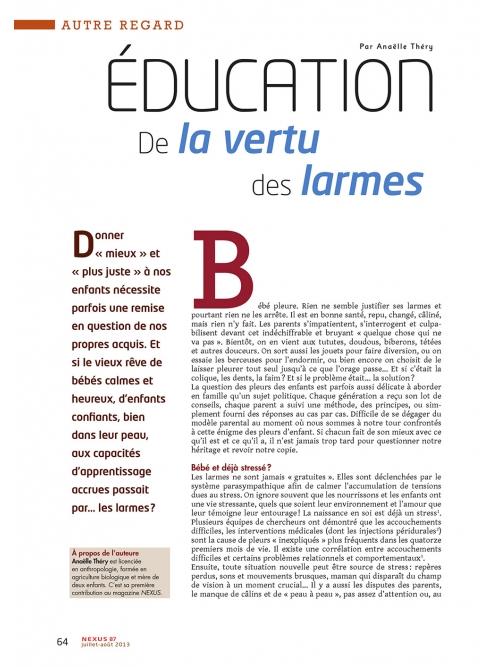 P1 NEX087-Education-De-la-vertu-des-larmes