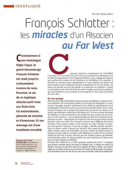 P1 NEX087-François-Schlatter-les-miracles-d-un-alsacien-au-Far-West
