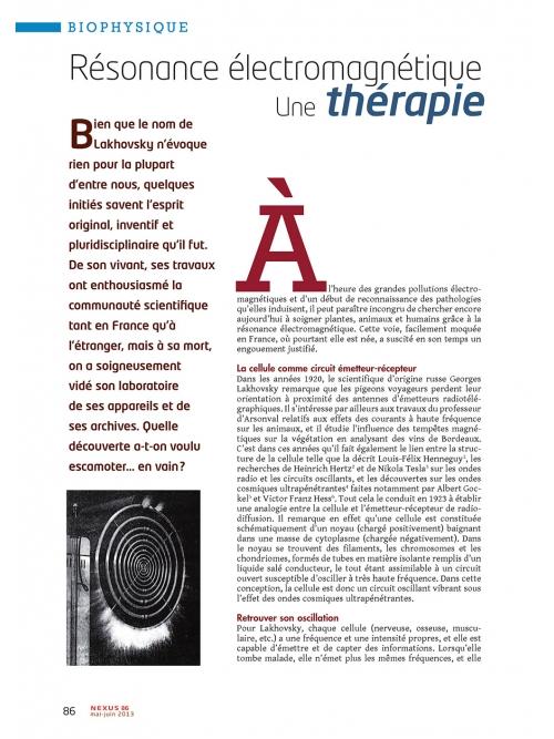 p1 NEX086-Resonance-electromagnetique-une-theorie-jetee-aux-oubliettes