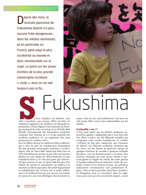 P1 NEX080-Fukushima-n'en-finit-pas