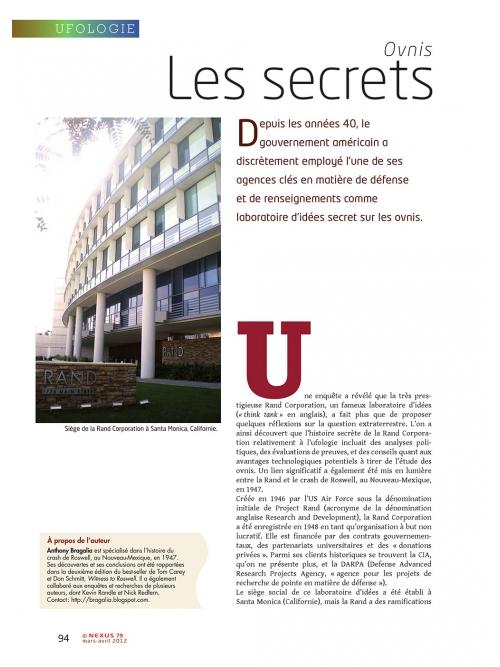 P1 NEX079-Ufologie-le-secrets-bien-gardes-d-un-think-tank