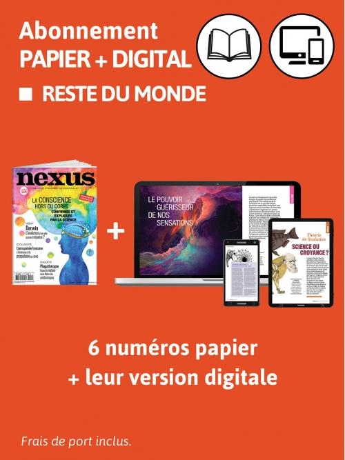 Abonnement Papier + DIG - Monde