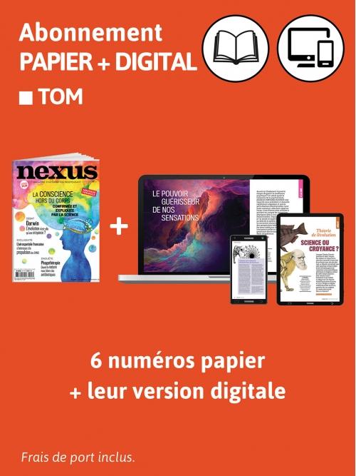 Abonnement Papier + DIG - TOM