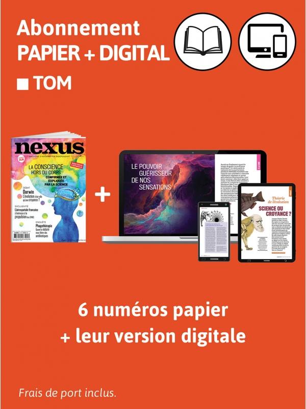 1 an Abo Papier et DIG TOM