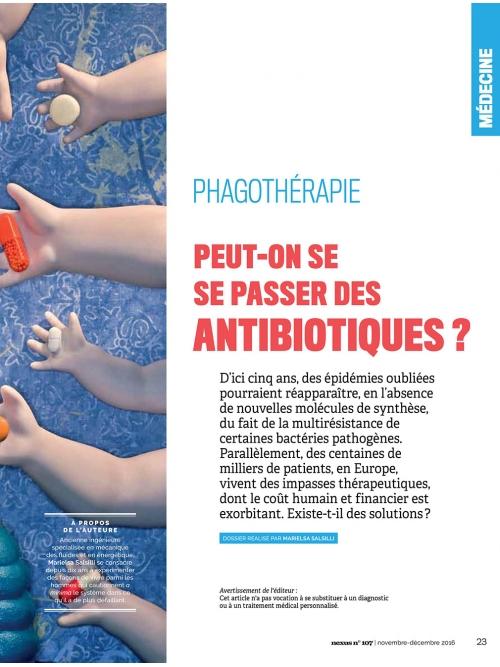 NEX107 La phagothérapie alternative aux antibiotiques 2