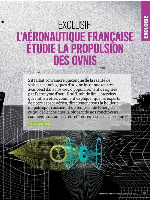 NEX107 L'aéronautique française étudie la propulsion des ovnis 2