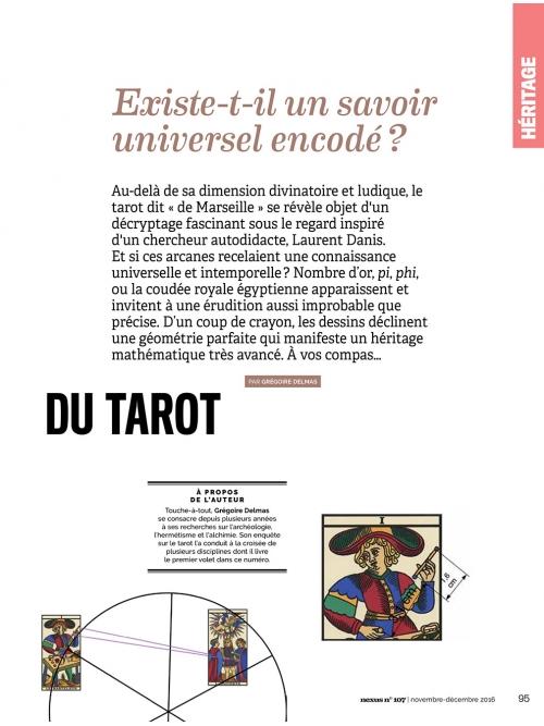 NEX107 p2 Odyssée mathématique du tarot