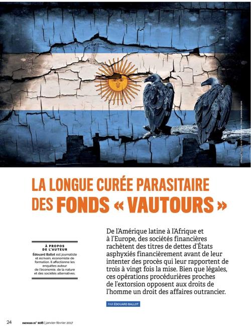 NEX108 La longue curée parasitaire des fonds vautours