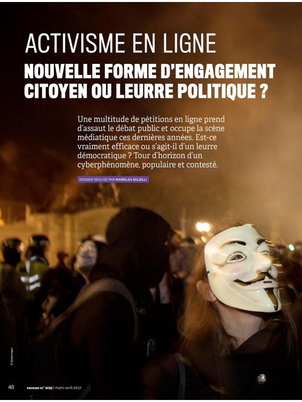 NEX109-1 Activisme en ligne