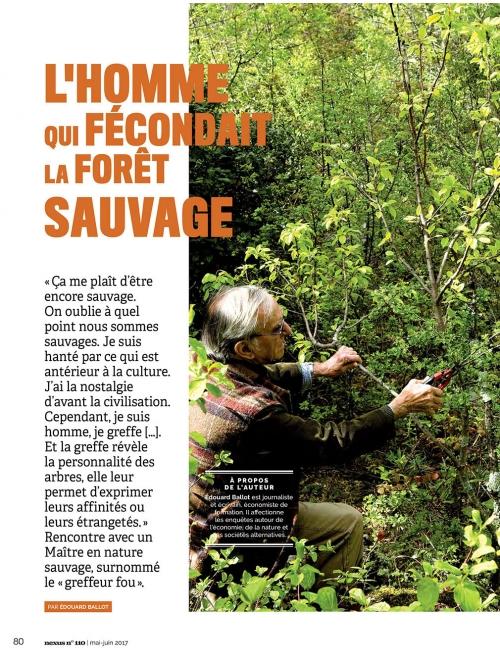 NEX110 L'homme qui fécondait la forêt 1