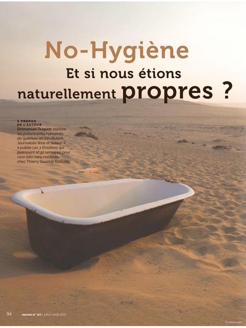 NEX111 No-hygiène serions-nous naturellement propres