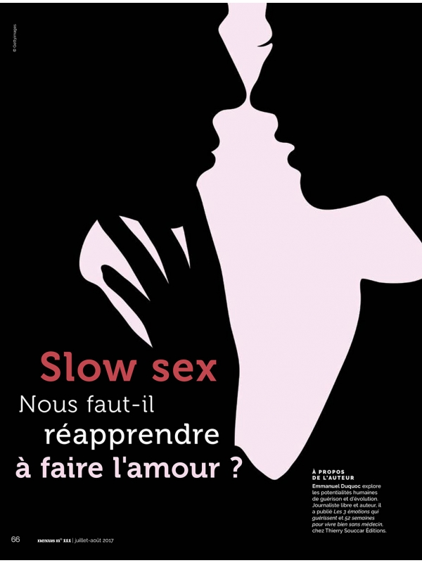 NEX111-1 Slow sex : réapprendre à faire l'amour
