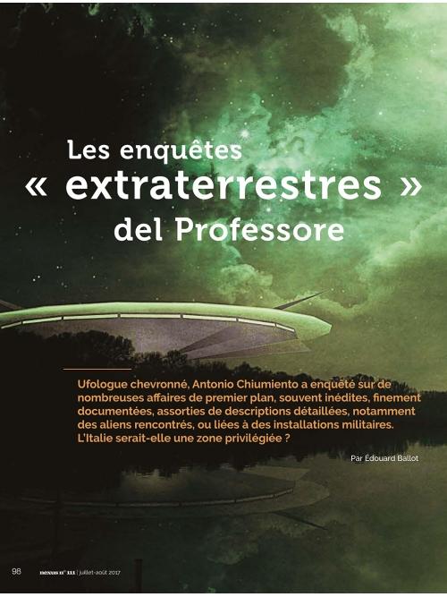 NEX111 Les enquêtes extraterrestres del professore