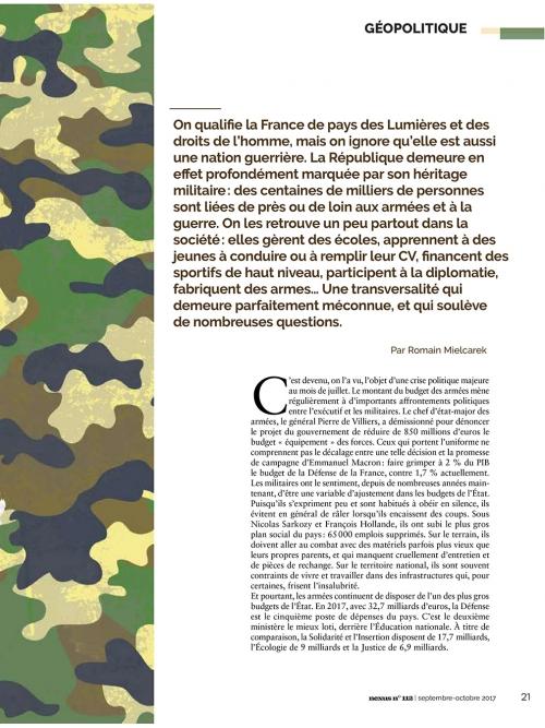 NEX112 b La France, nation guerrière