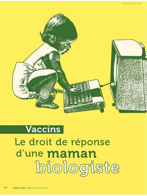 NEX112 Vaccins, le droit de réponse d'une maman biologiste