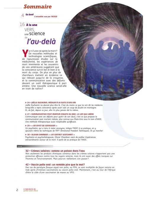 P2 N° 81 (juillet-août 2012)