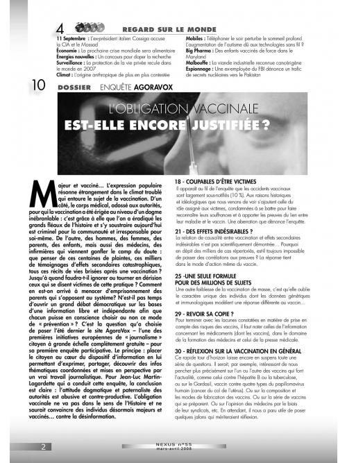 N° 55 (mars-avril 2008)