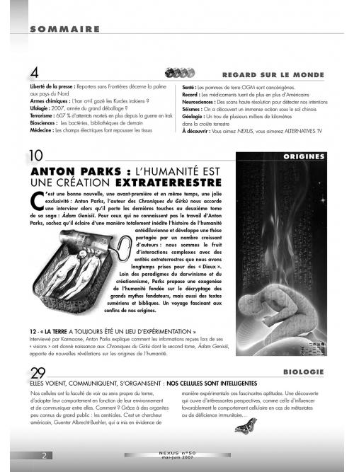 N° 50 (mai-juin 2007)