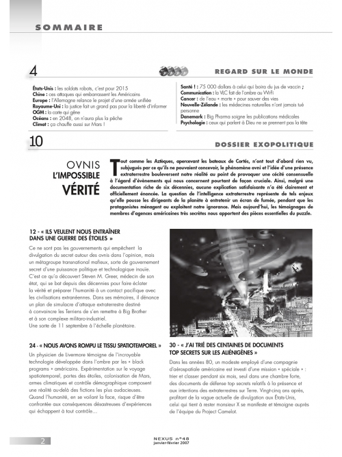 N° 48 (janvier-février 2007)