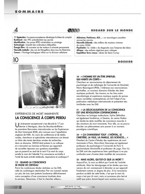 N° 46 (sept.-oct. 2006)