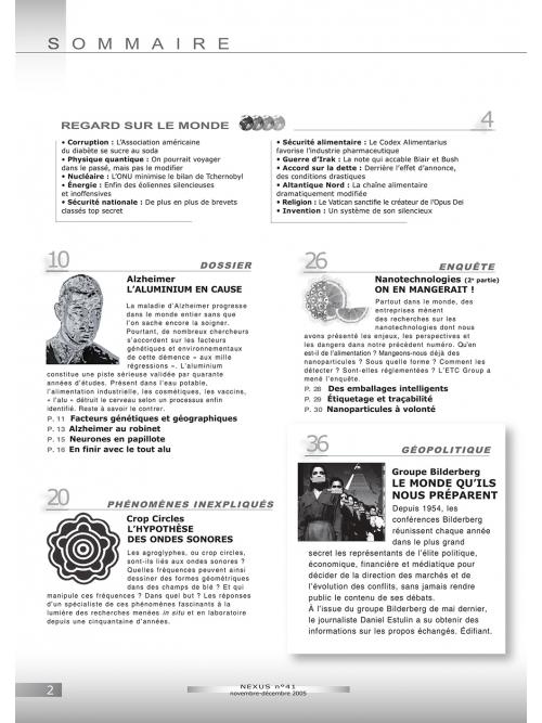 P2 N° 41 (nov.-déc. 2005)