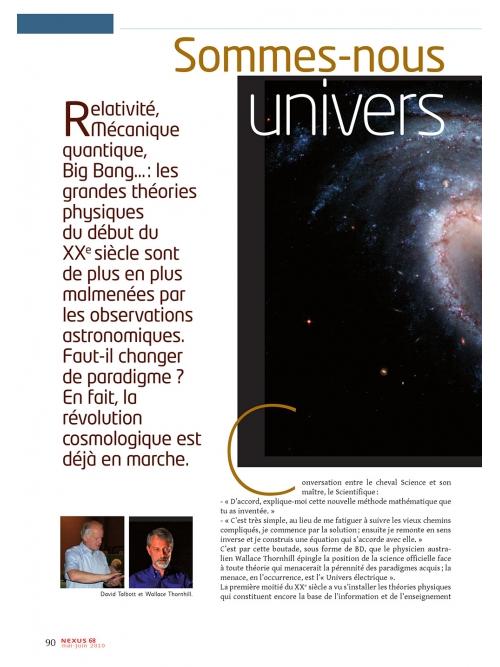 NEX068 Sommes nous dans un univers électrique ?