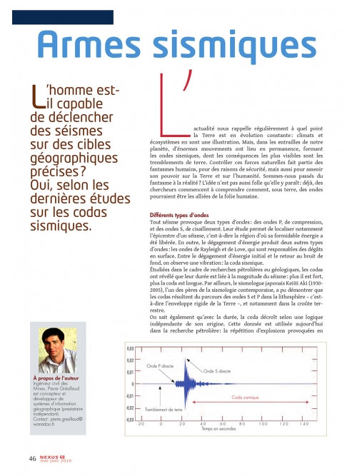 NEX068-Armes sismiques l'hypothèse des codas