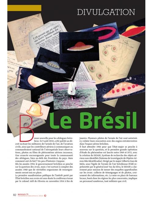 NEX071-Divulgation le Brésil donne l'exemple