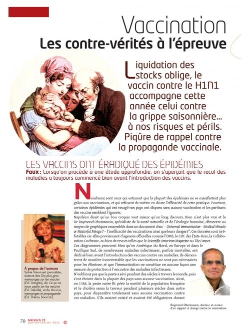 NEX072-Vaccination les contre-vérités à l'épreuve des chiffres