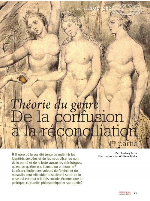 NEX104 Théorie du genre de la confusion a la réconciliation