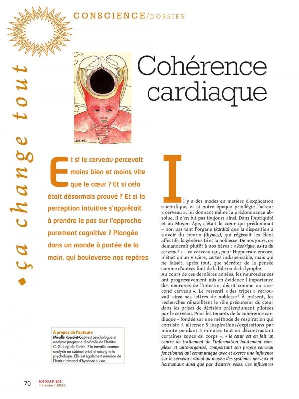 P1-NEX103 Cohérence cardiaque nouvelles lumières sur l'intuition