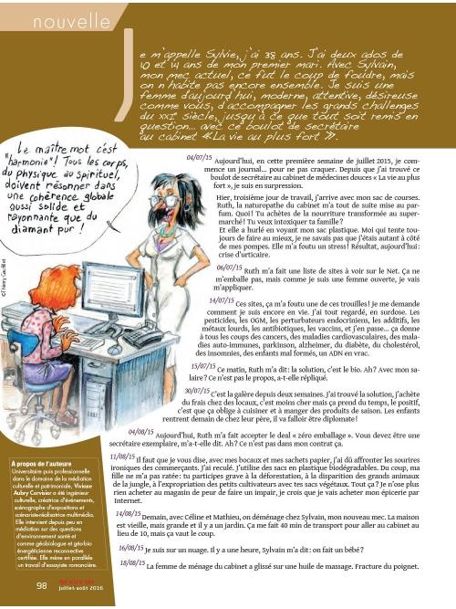 NEX105 Journal d'une femme appliquée