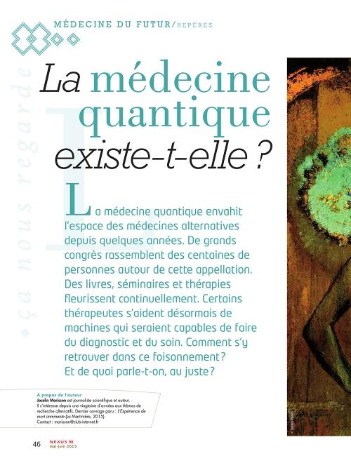 P1 NEX098-La-medecine-quantique-existe-t-elle