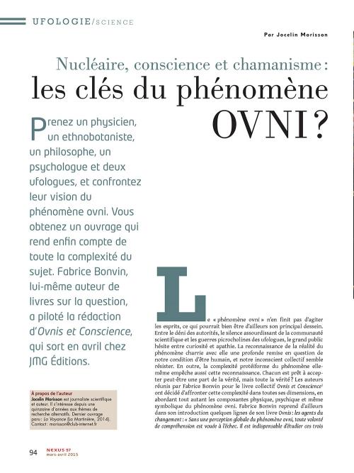 p1 NEX097-Nucleaire-conscience-et-chamanisme-les-cles-du-phenomene-ovni