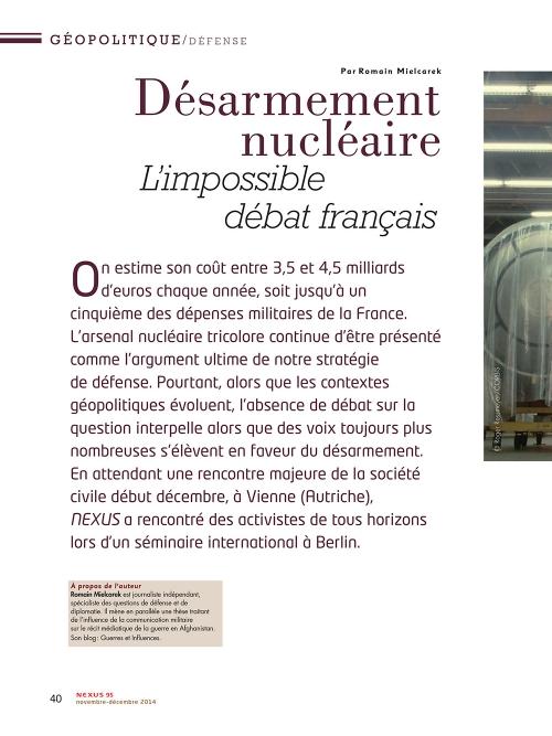 p1 NEX095-Desarmement-nucleaire-l-impossible-debat-français