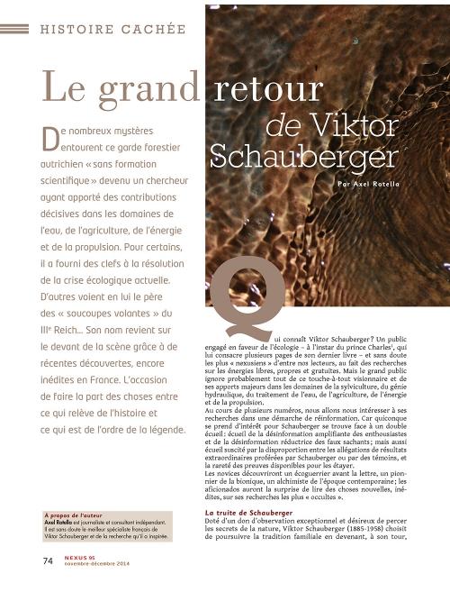 P1 NEX095-Biomimetisme-le-grand-retour-de-Viktor-Schauberger