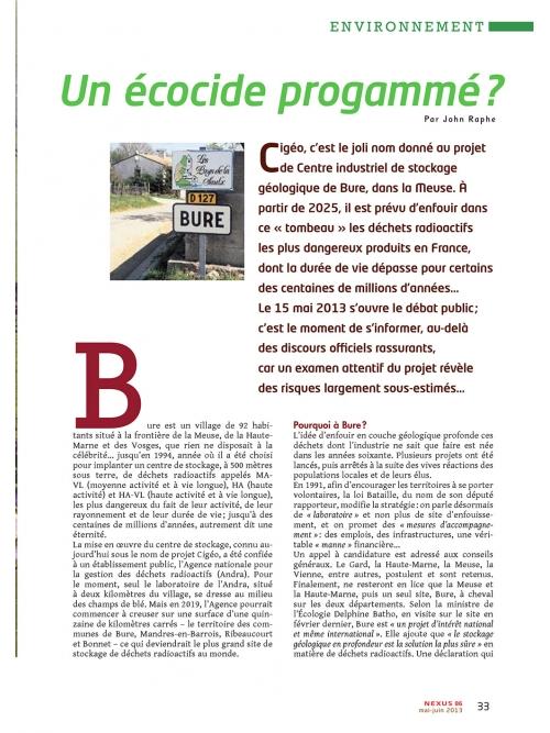 NEX086-Nucleaire-Bure-un-ecocide-programme