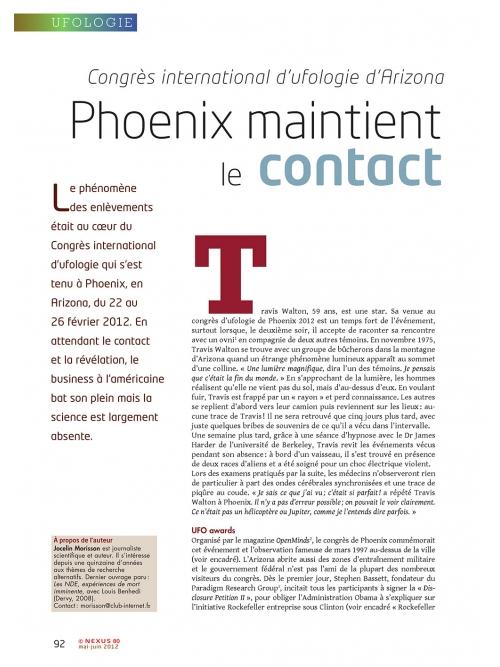 NEX080-Congres-international-ufologie-Arizona-Phoenix-maintient-le-contact