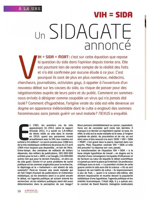 P1 NEX079-VIH-Sida-un-sidagate-annonce