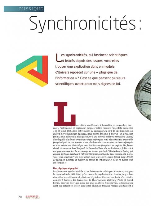 p1 NEX079-Synchronicites-vers-une-physique-de-l-information