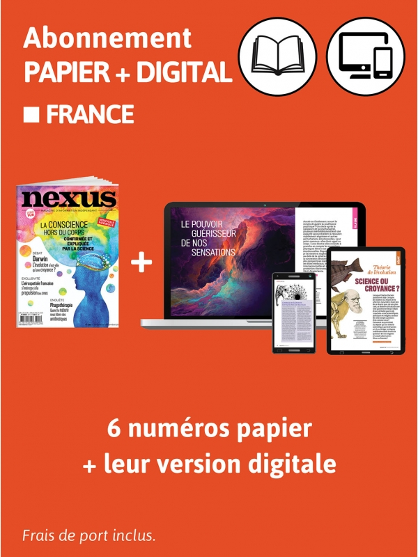1 an Abo papier + digital FRANCE