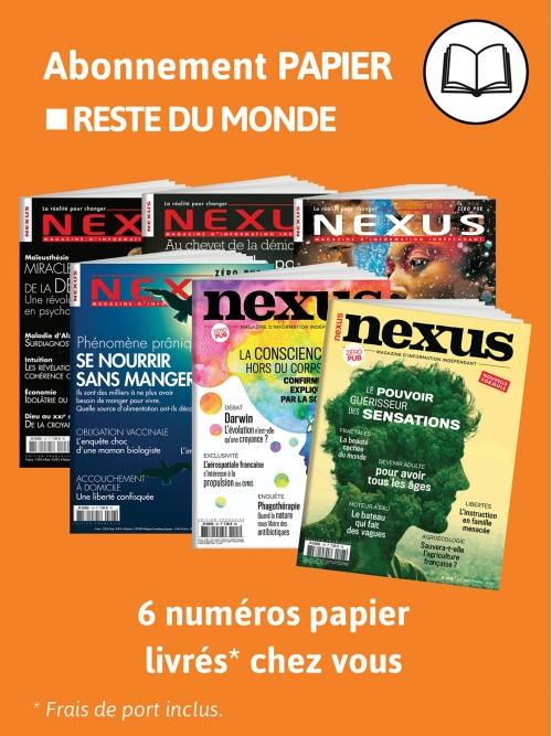 Abonnement Papier - Monde