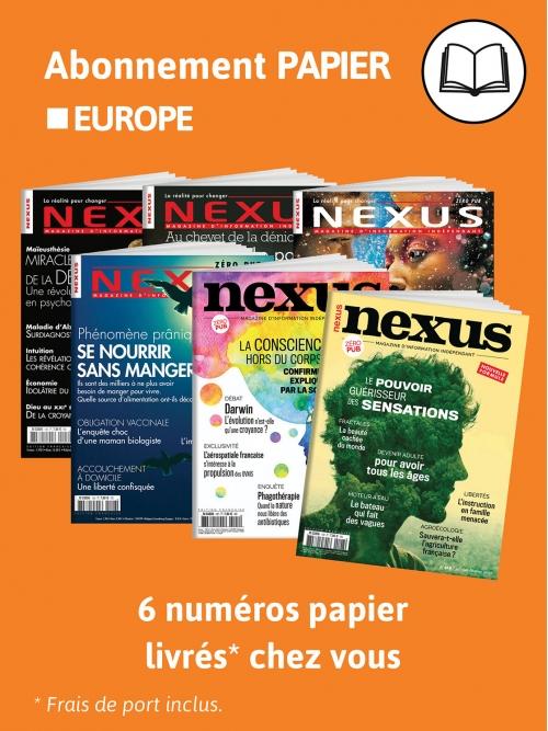 Abonnement Papier - Europe