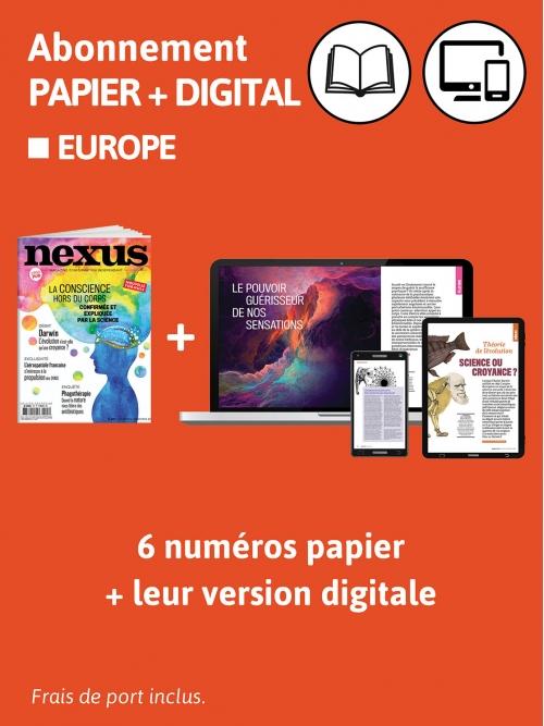 Abonnement Papier + DIG - Europe
