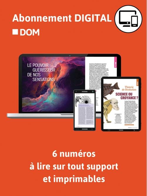 Abonnement Digital - DOM