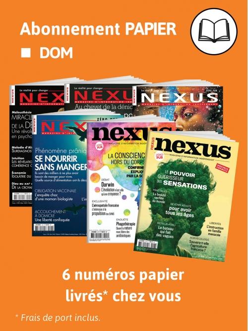 Abonnement Papier - DOM
