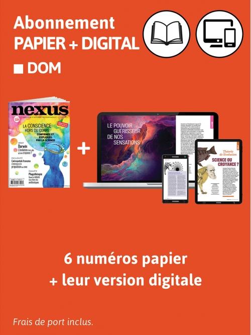 Abonnement Papier + DIG - DOM