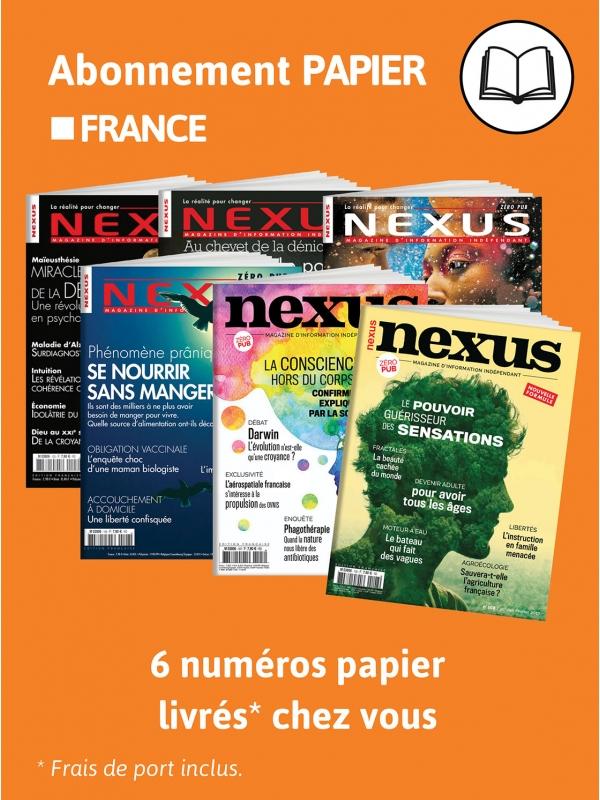 abonnement nexus france 1 an papier. Black Bedroom Furniture Sets. Home Design Ideas