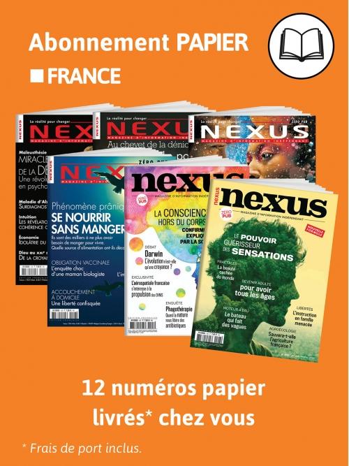 2 ans Abo papier FRANCE