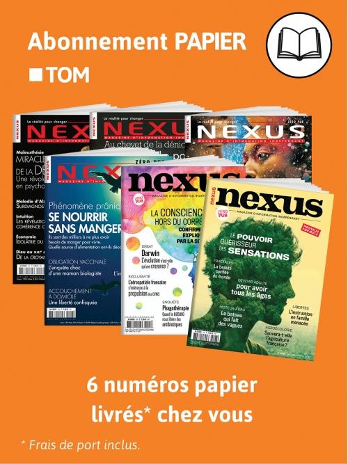 Abonnement Papier - TOM